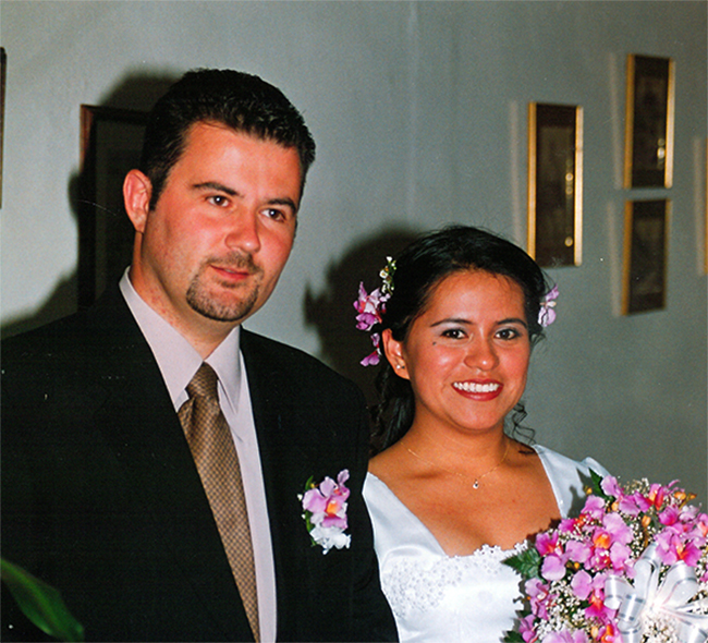 Alessandro Folghera e Daicy Susana Folleco Solarte